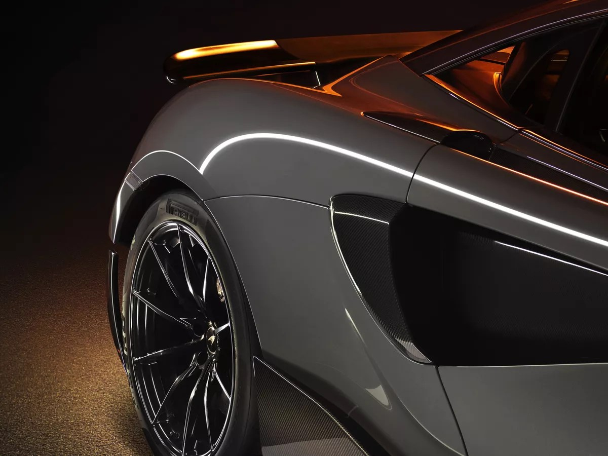 mclaren 600lt design exhausts ride