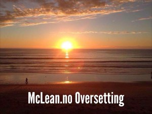 McLean.no Oversetting
