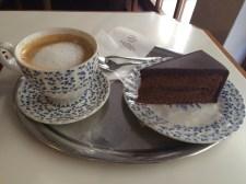 my first Viennese caffe und kuchen. Not my last.