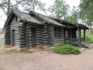 The caretaker's cabin