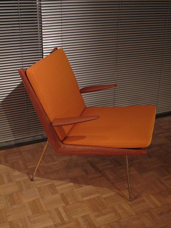 hans wegner rocking chair modern bean bag chairs canada peter hvidt & orla molgaard nielsen boomerang 135 | mcm interiors