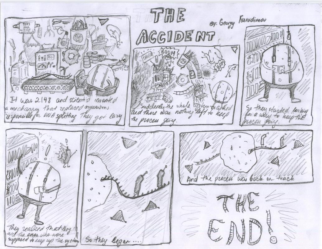 Artifact 3 Protein Synthesis Comic Strips