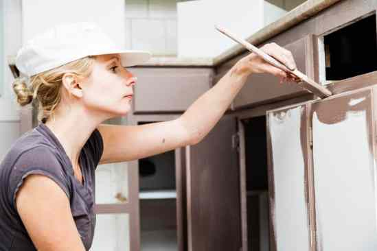 Painting Kitchen Cabinets - McManus Cabinet Refacing, Tallahassee