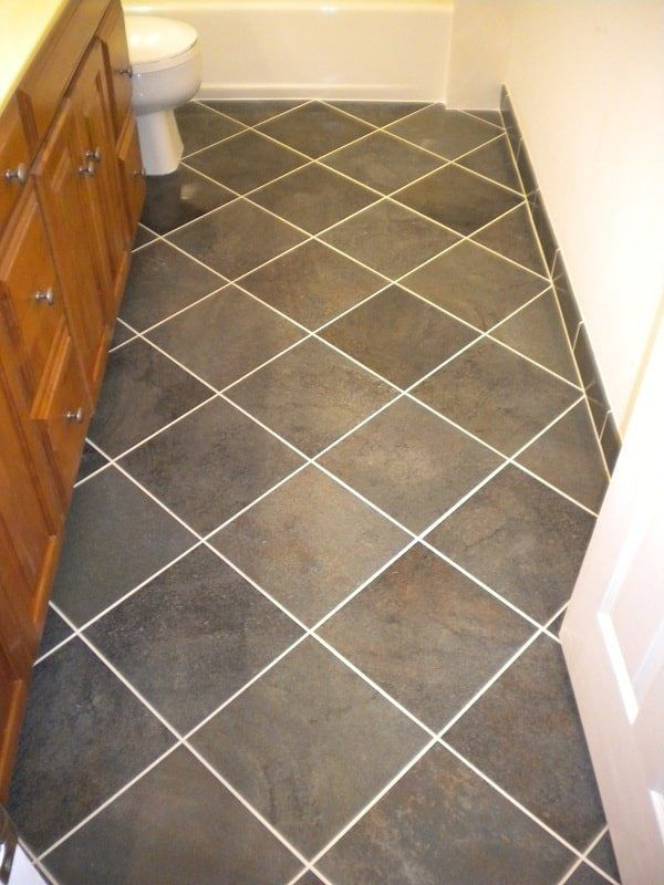 9 types of floor tile patterns to consider in tallahassee for What type of tile for bathroom floor