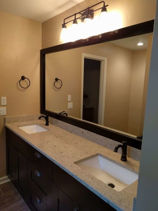 Creating a walk in shower mcmanus kitchen and bath for Bath remodel tallahassee