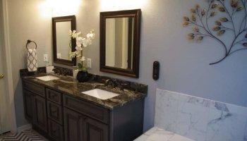 Bathroom Vanities Tallahassee Fl creating a walk in shower - mcmanus kitchen and bath tallahassee