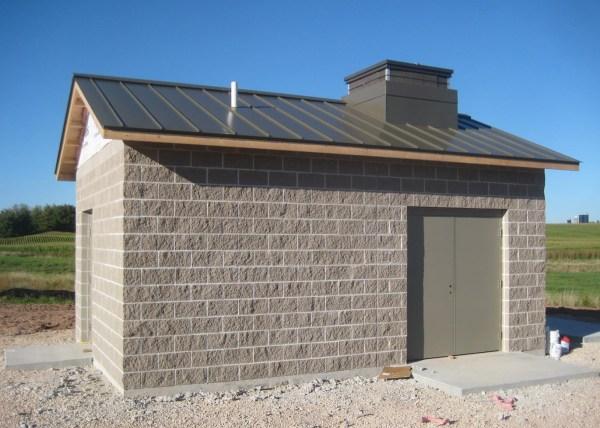 Well Pump House Plans Concrete Blocks