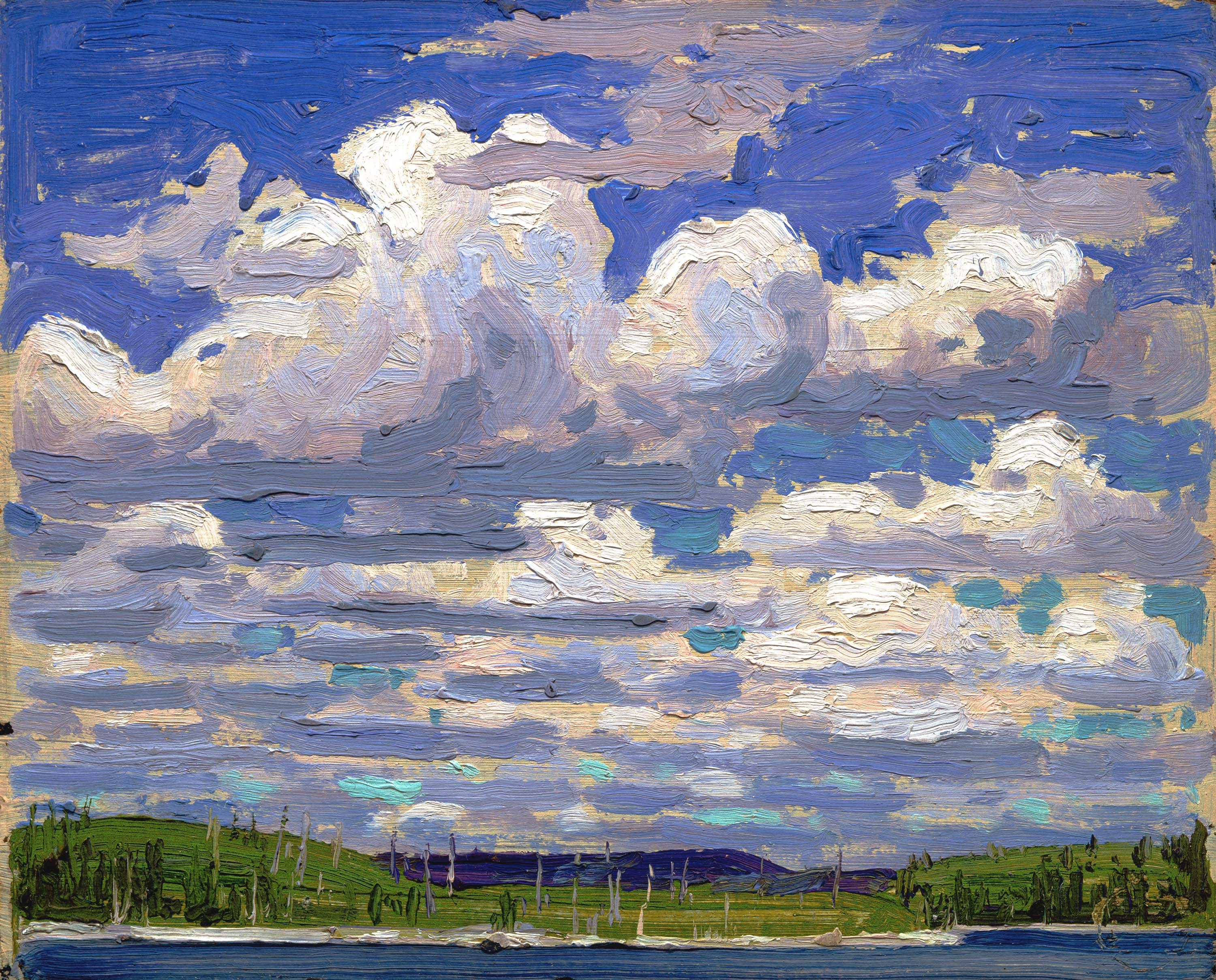 Eulalies Journey to Algonquin with Tom Thomson Children