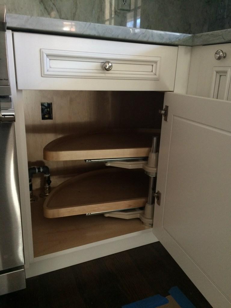 base cabinet shelf accessory