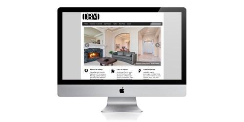 Responsive website design for DB Miller
