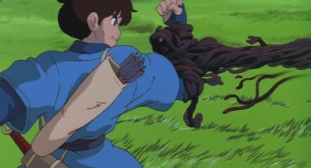 Screenshot from Princess Mononoke