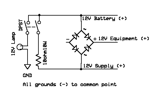 12V Battery Backup / Charging Circuit