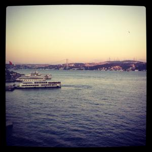 Views of the Bosphorus, Istanbul
