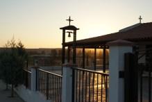 Ayia Marina church at sunset