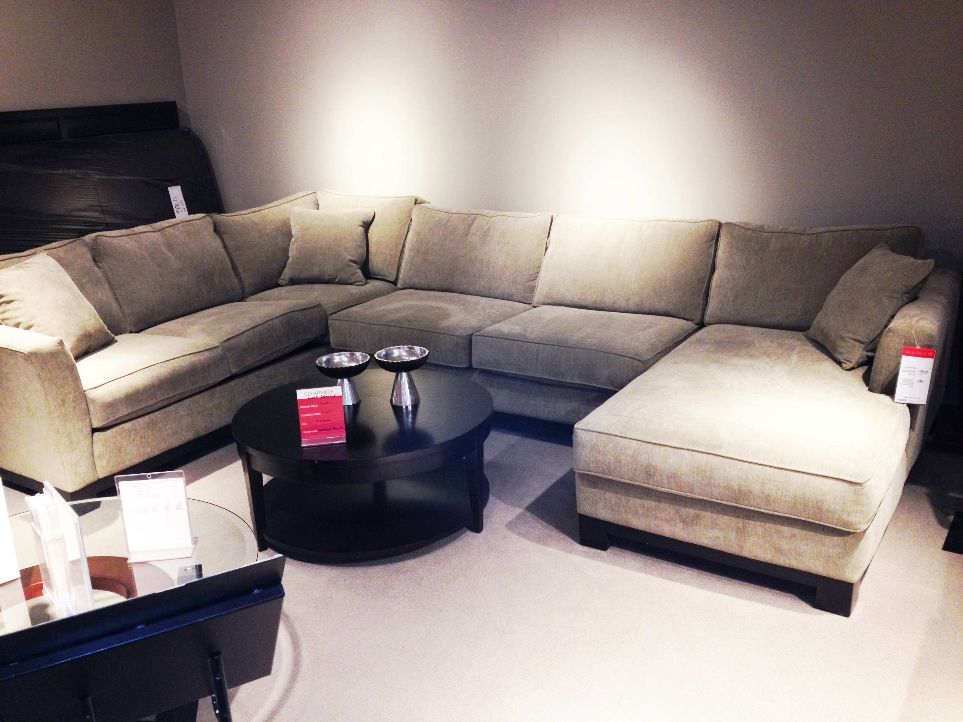 macy s elliot sofa l shaped modern macys sectional baci living room