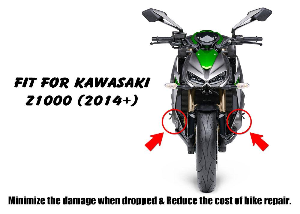 Racing Red Engine Stator Clutch Slider Set For Kawasaki