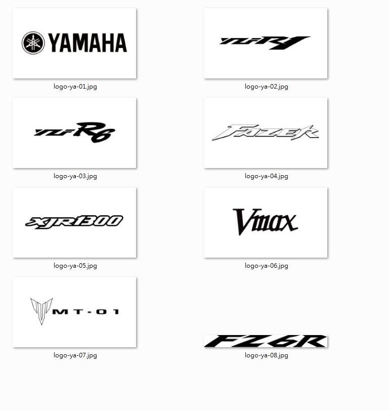 Adjustable Brake Clutch Levers with Laser Engraving Yamaha