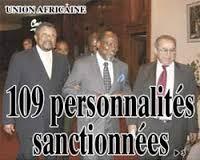 109 personnes sanctionnées