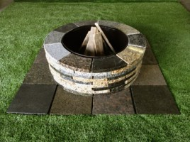 fire pit mixed