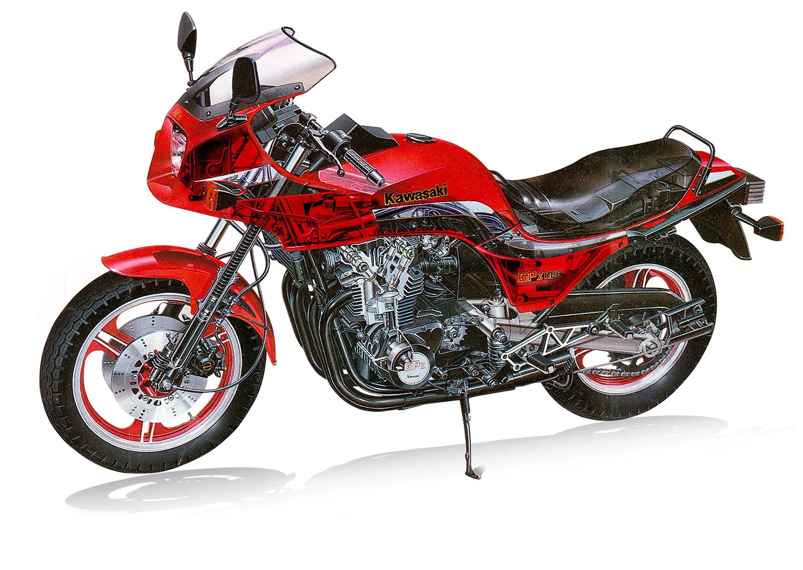 hight resolution of kawasaki gpz1100 the last king of a vanished clan aircooled superbikes mcn