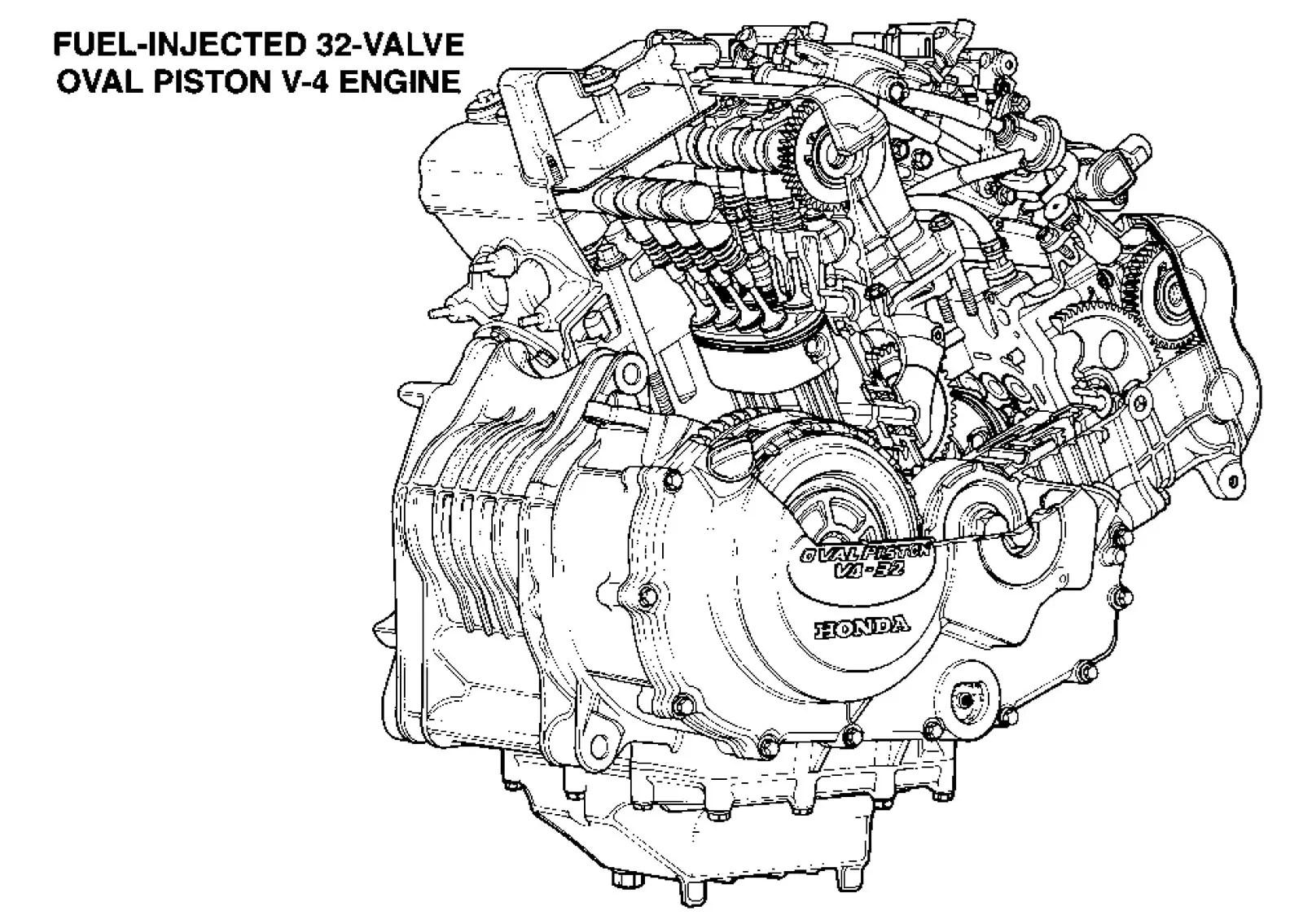 hight resolution of oval engine diagram diagram data schema november 9 1991 honda nr750 rc40 first test
