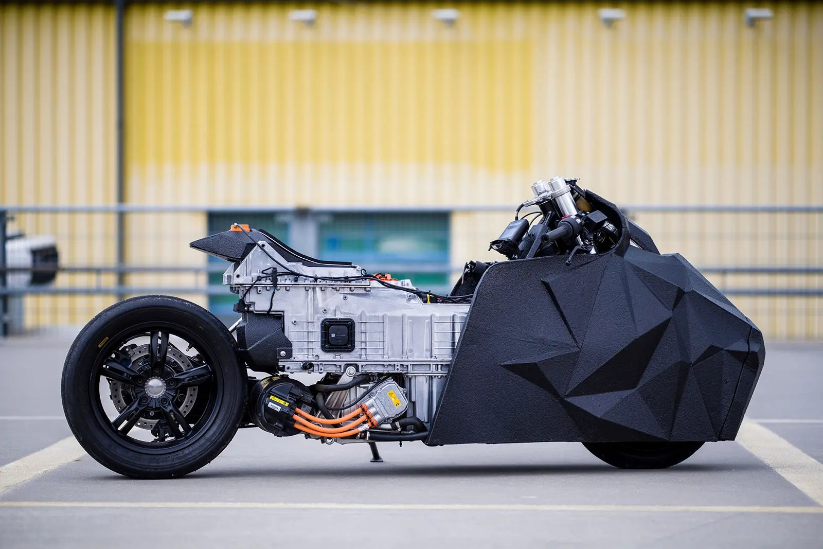 electrical motorbike bmw trailer battery wiring diagram a buzz about this electric custom