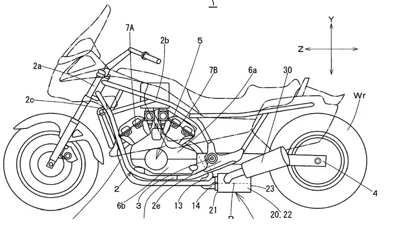 2008 Yamaha V-Max patents revealed