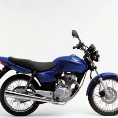1975 Cb750 Wiring Diagram 7 Jaw Meter Socket Honda Cg125 2008 Review Speed Specs Prices Mcn Motorcycle Side View