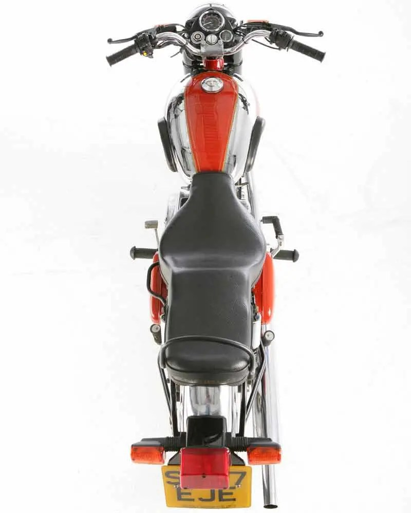 medium resolution of royal enfield bullet 350 motorcycle review top view