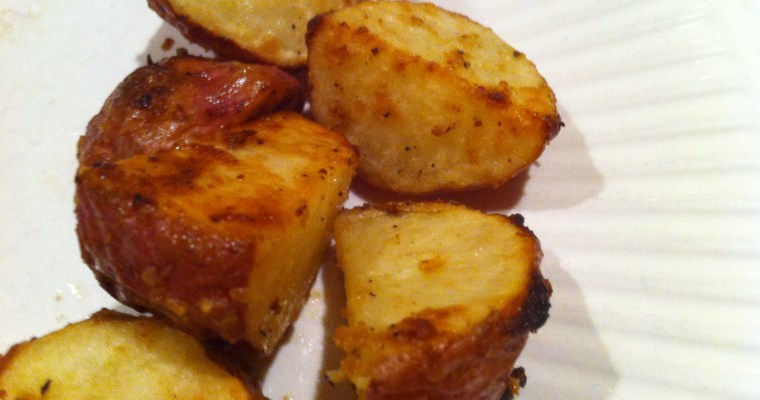 Roasted Red Potatoes with Dijon Mustard
