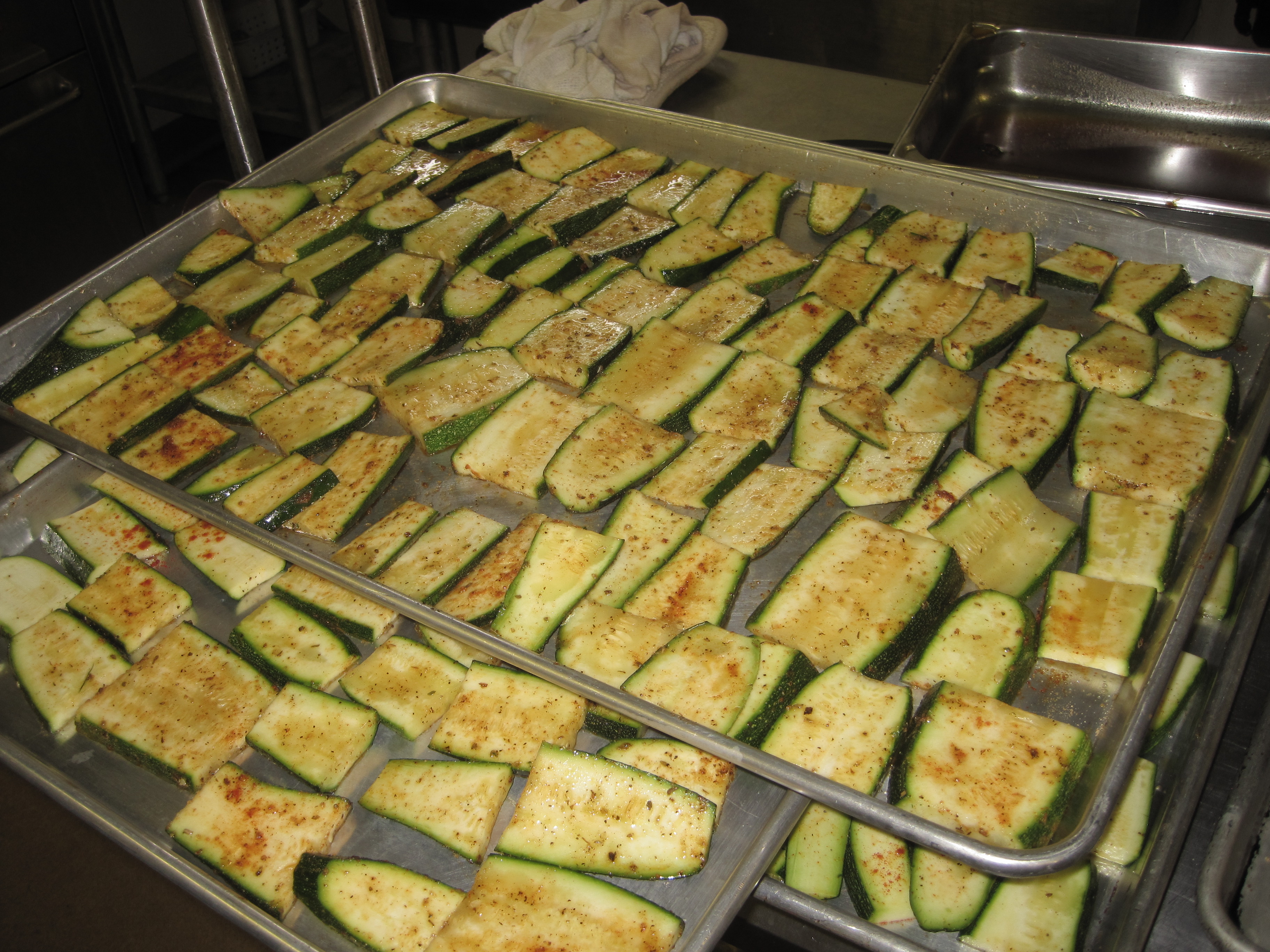 Perfectly Roasted Zucchini