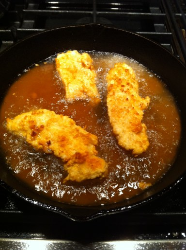How to fry chicken tenders