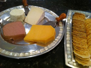 Cheese Platter with Pate