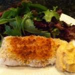 Easy toasted halibut recipe