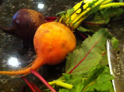 what to do with beet greens