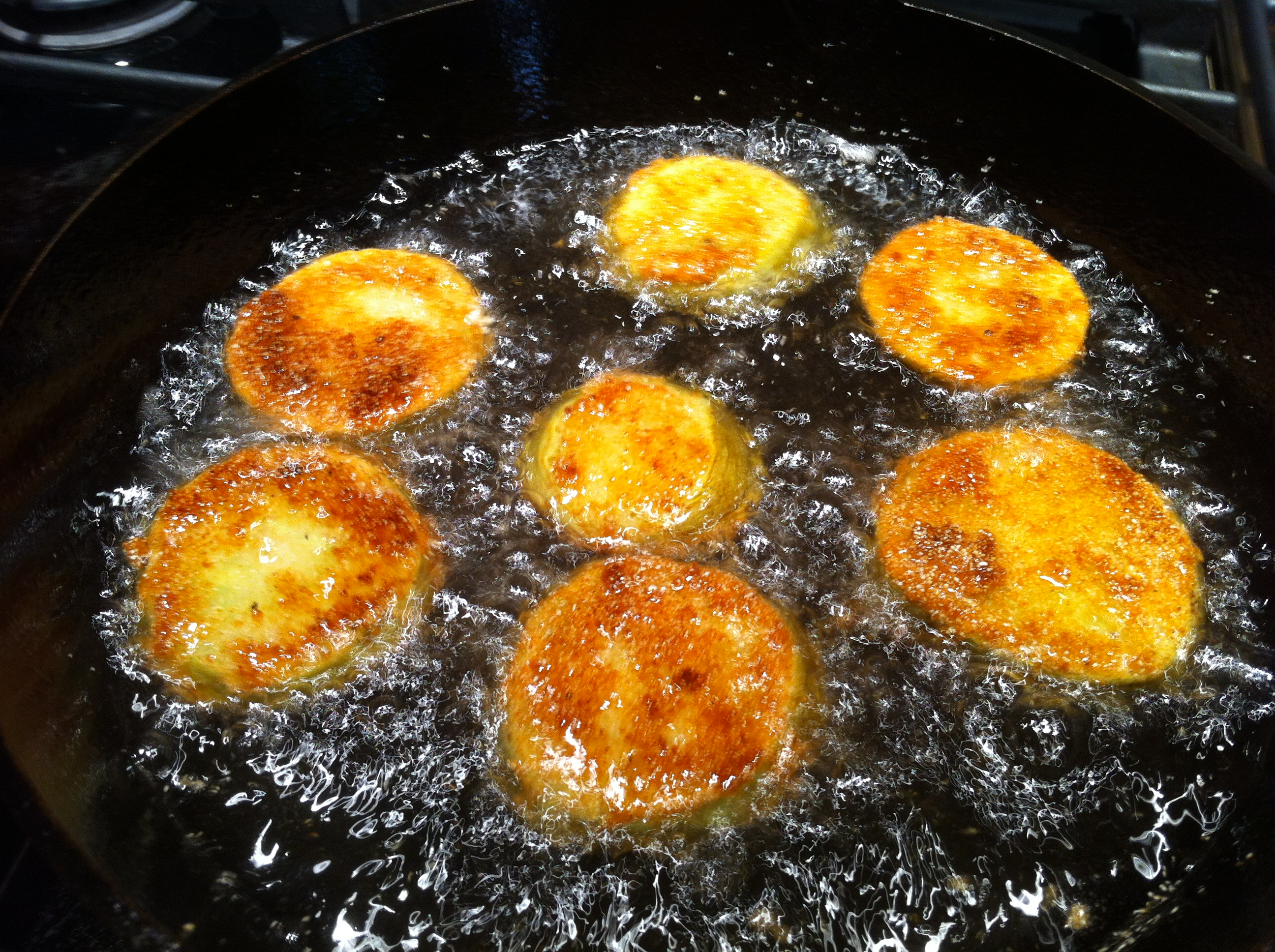 How to make perfect fried green tomatoes