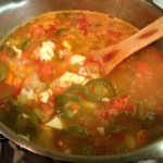 Chicken Soup from Leftovers