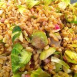Farro and Brussels Sprout Salad