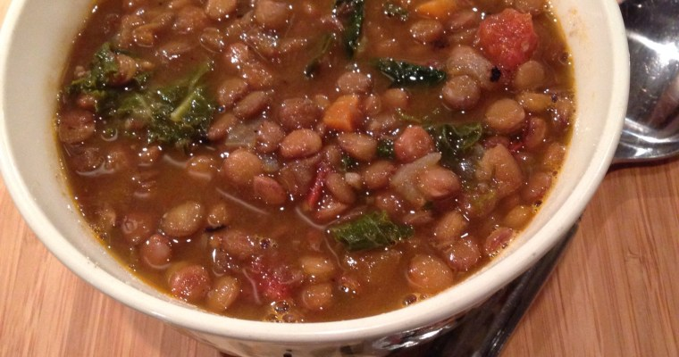 Lentil Soup with Fresh Herbs