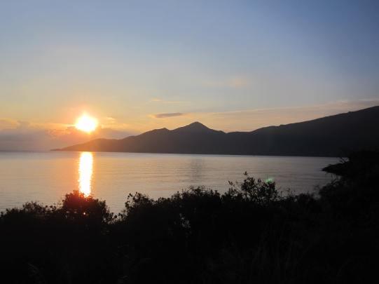 030 'Bay Sunset' - Greece