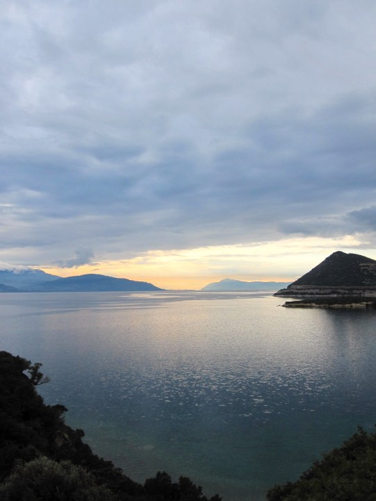 Back on the Bay of Corinth