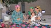 Kind hosts in Uzbekistan