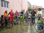 Cycle Tourist Central! We hooked up with Mathilde, Matthieu, Jonathan & Manu for the next 2 weeks.