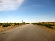 092 'Desert Road To Bukhara' - Uzbekistan