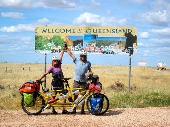 Phew.. Next State - Queensland (it dawns on us that this is a mighty big country!)