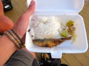 Luxurious economy class meals!