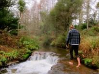 Paddle in a hot stream - Rotorua