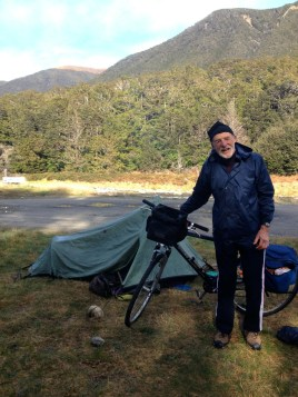 This is Bruce. An inspiration cycle touring in his 70's