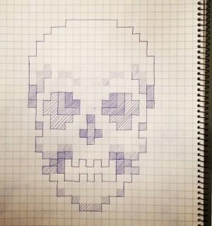 Bitmap Skull | Art(ish)