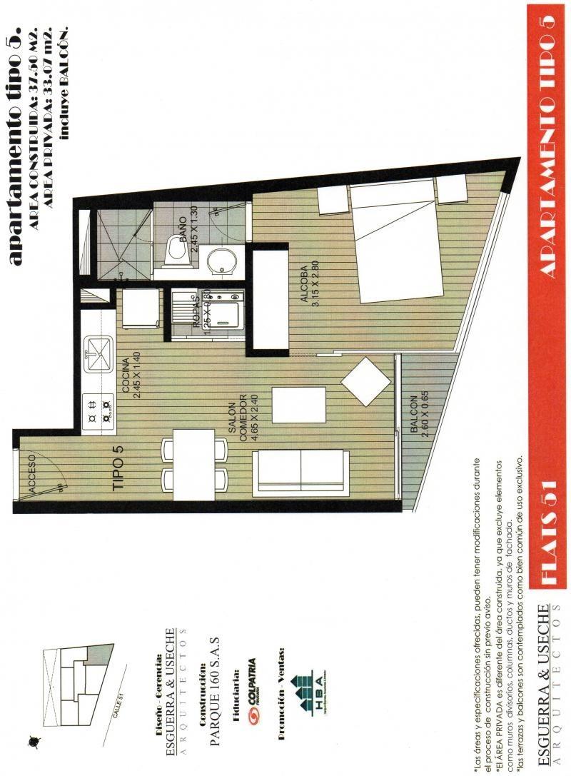 Apartamentos en Venta en Apartaestudio En Venta